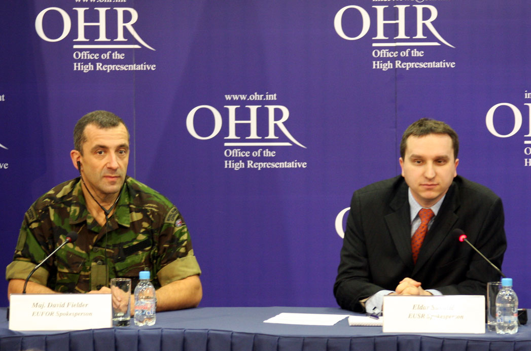Transcript of the International Agencies' Joint Press Conference