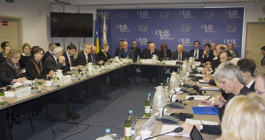 Session of the Peace Implementation Council (OHR archive)