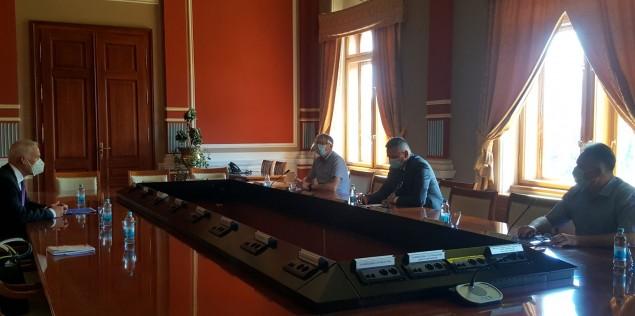 OHR photo PDHR with Mayor, Deputy Mayor and Vice Speaker